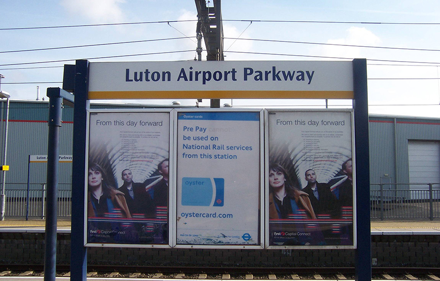 Luton Parkway Station