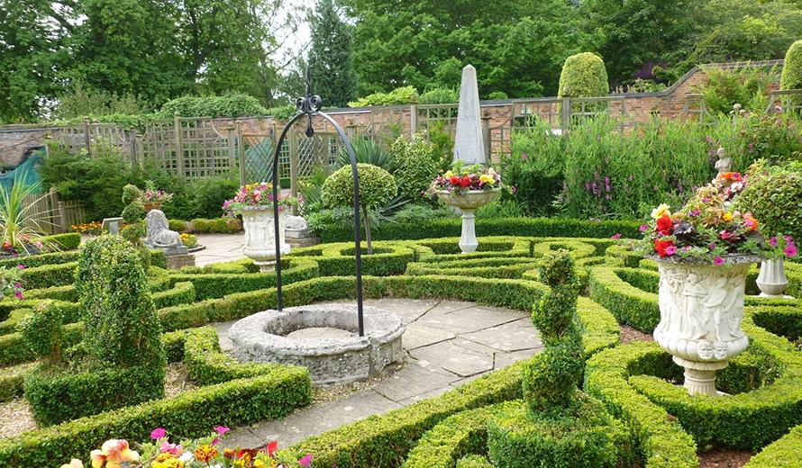 Nine Centuries of Garden History