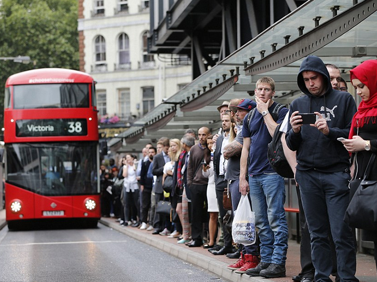 Public transport is inconvenient to Central London