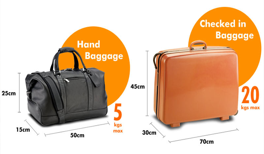 Restrictions on hand luggage