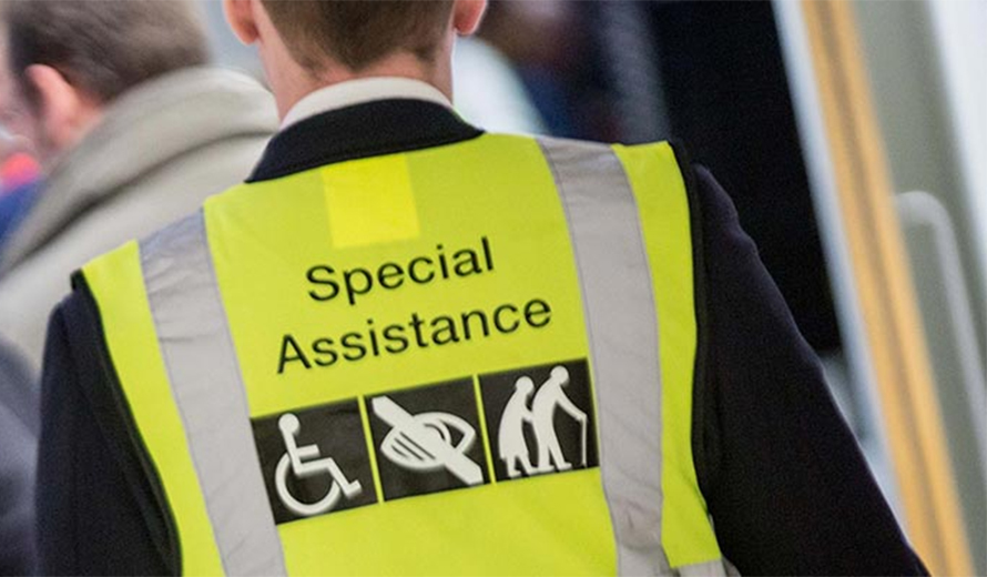 Special assistance Luton Airport