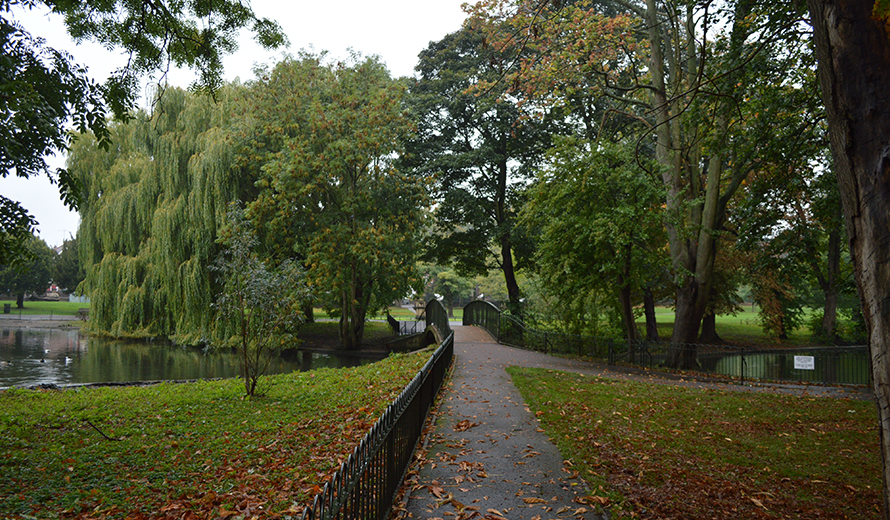 Wardown Park is a fantastic area to socialise in